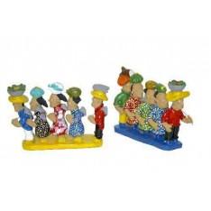 Figurines en terre cuite