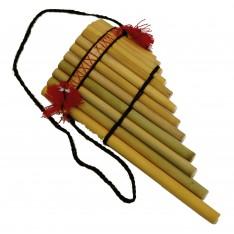 Flûte Antara courbée