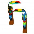 Toucan (50cm) bec horizontal