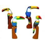 Toucan (40cm) bec horizontal