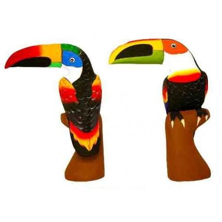 Toucan (30cm) bec horizontal