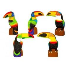 Toucan (20cm) bec horizontal