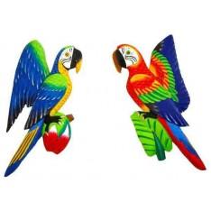 Perroquet mural