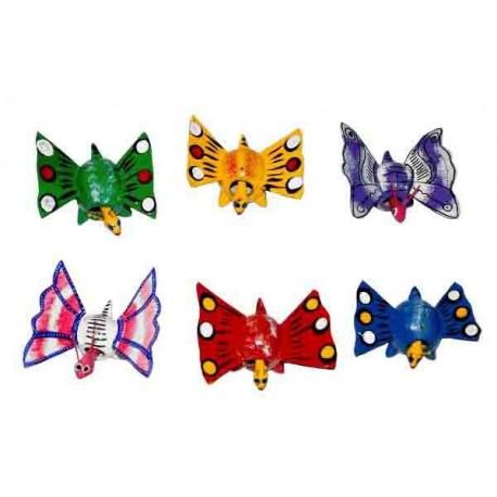 Papillon tête mobile